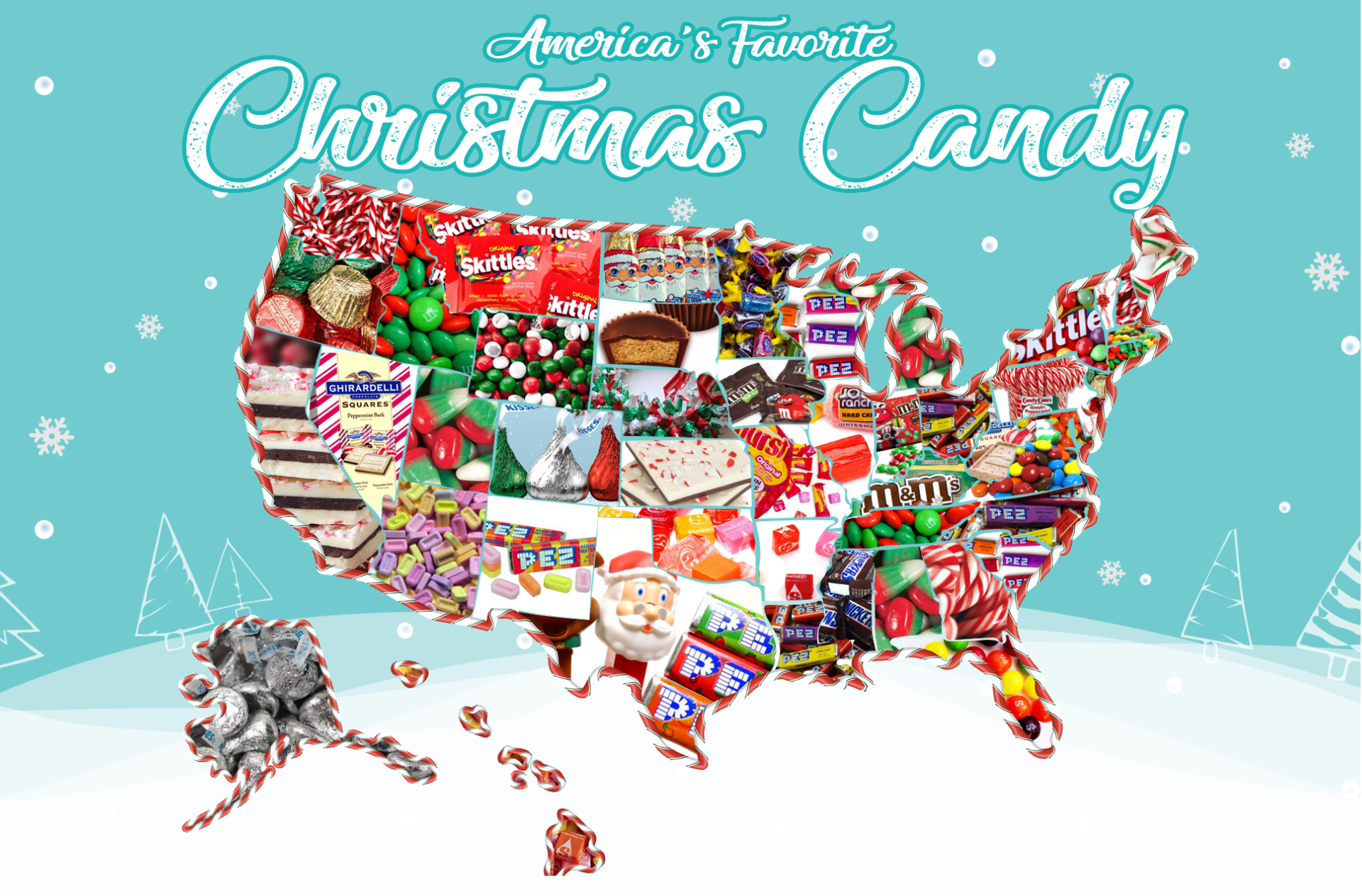 Find Out What the Most Popular Holiday Candy in Your State Is