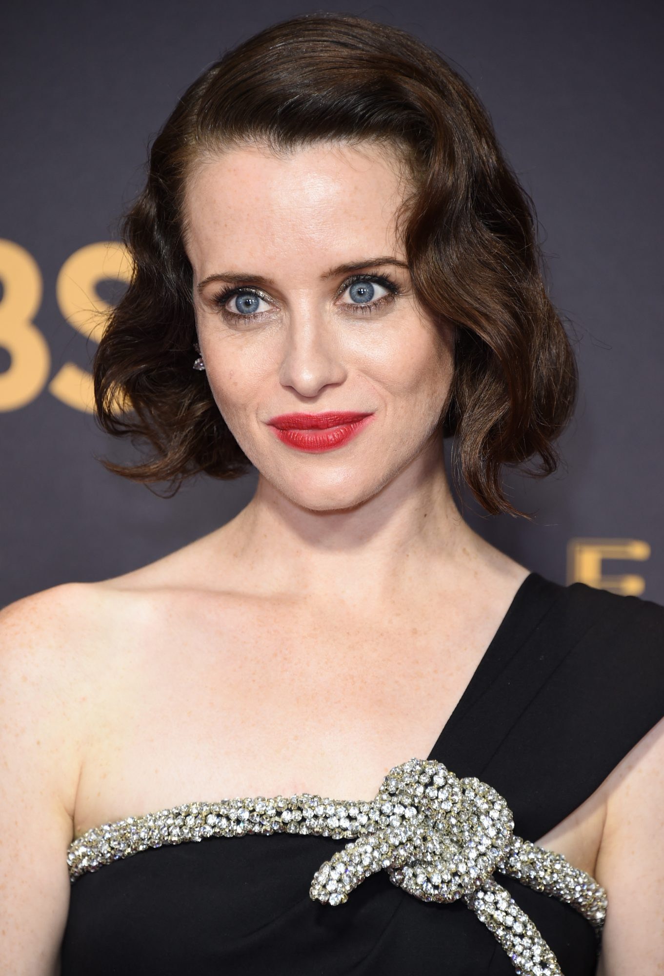 Claire Foy's Old Hollywood Curls