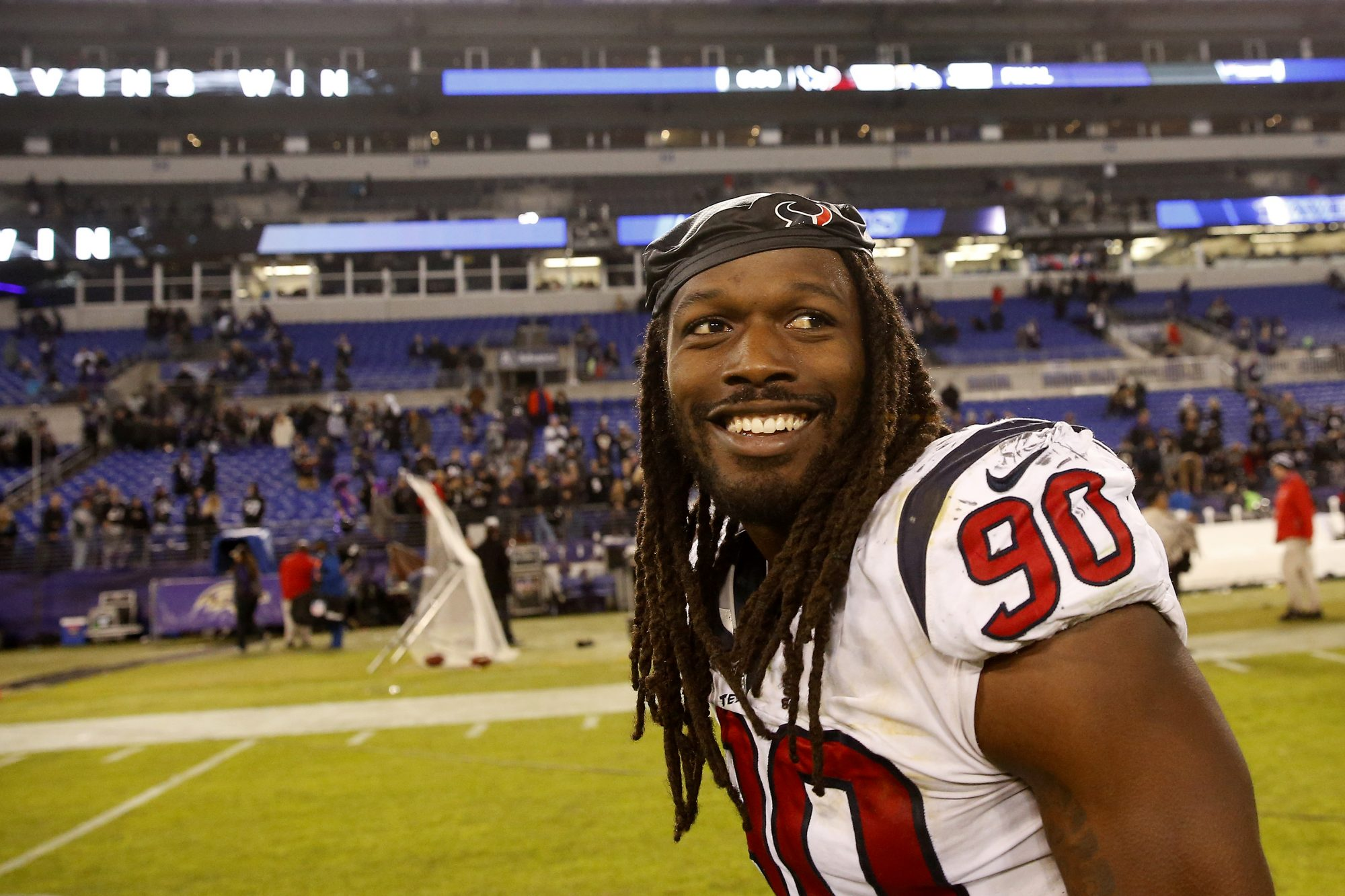 Houston Texan Jadeveon Clowney