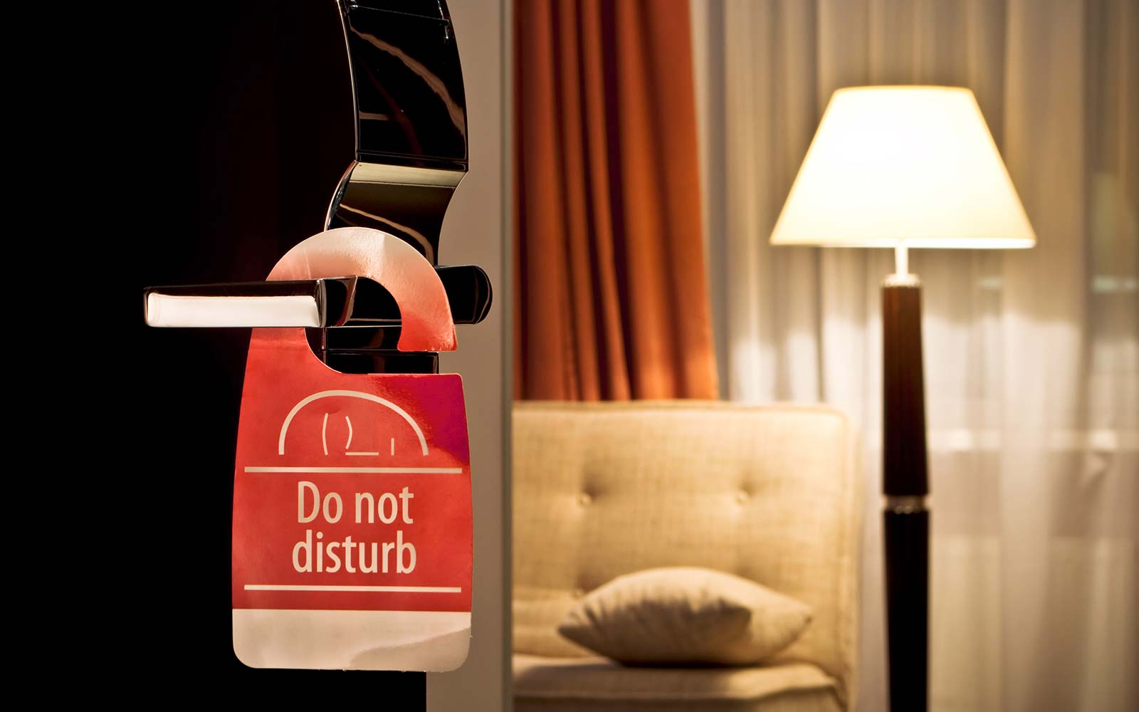 Hotel Policy Change Privacy Signs Do Not Disturb Security