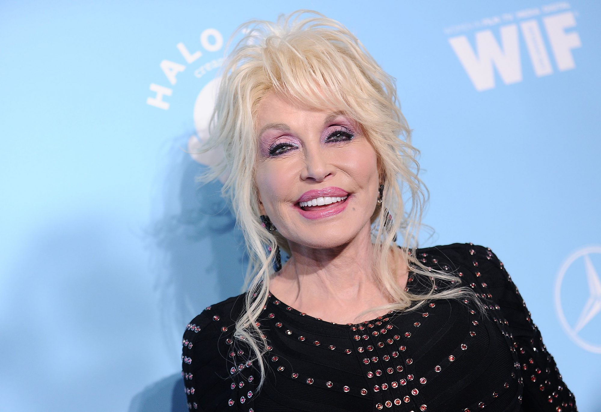 Dolly Parton Smiling September 2017