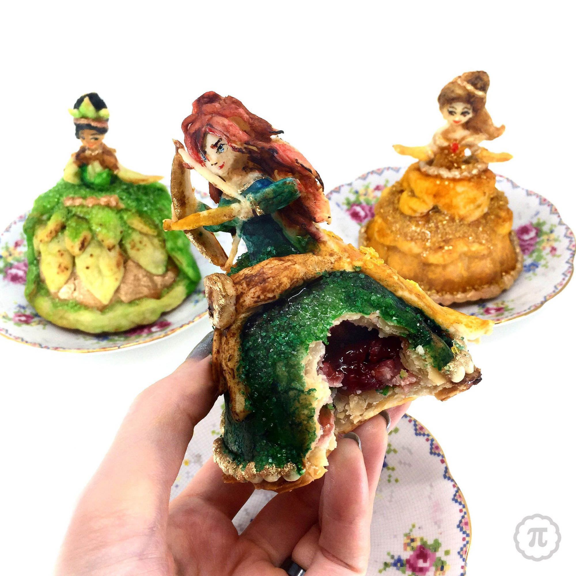 Disney Princess Hand Pies