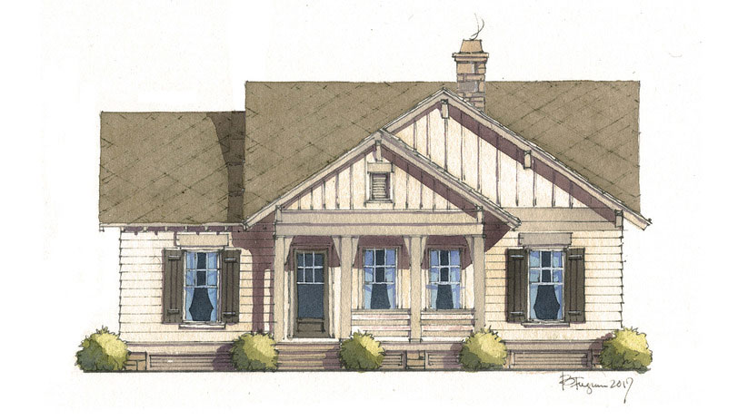 RX_1712_Best House Plans Under 2000 Square Feet_Flint Cottage, Plan #1955