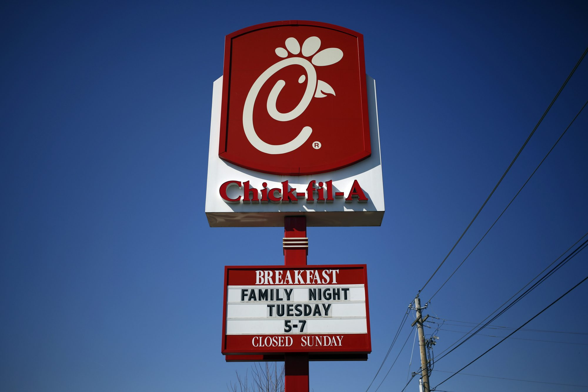 Inside a Chick-Fil-A Restaurant As Consumer Spending & GDP Rose in 4th Quarter