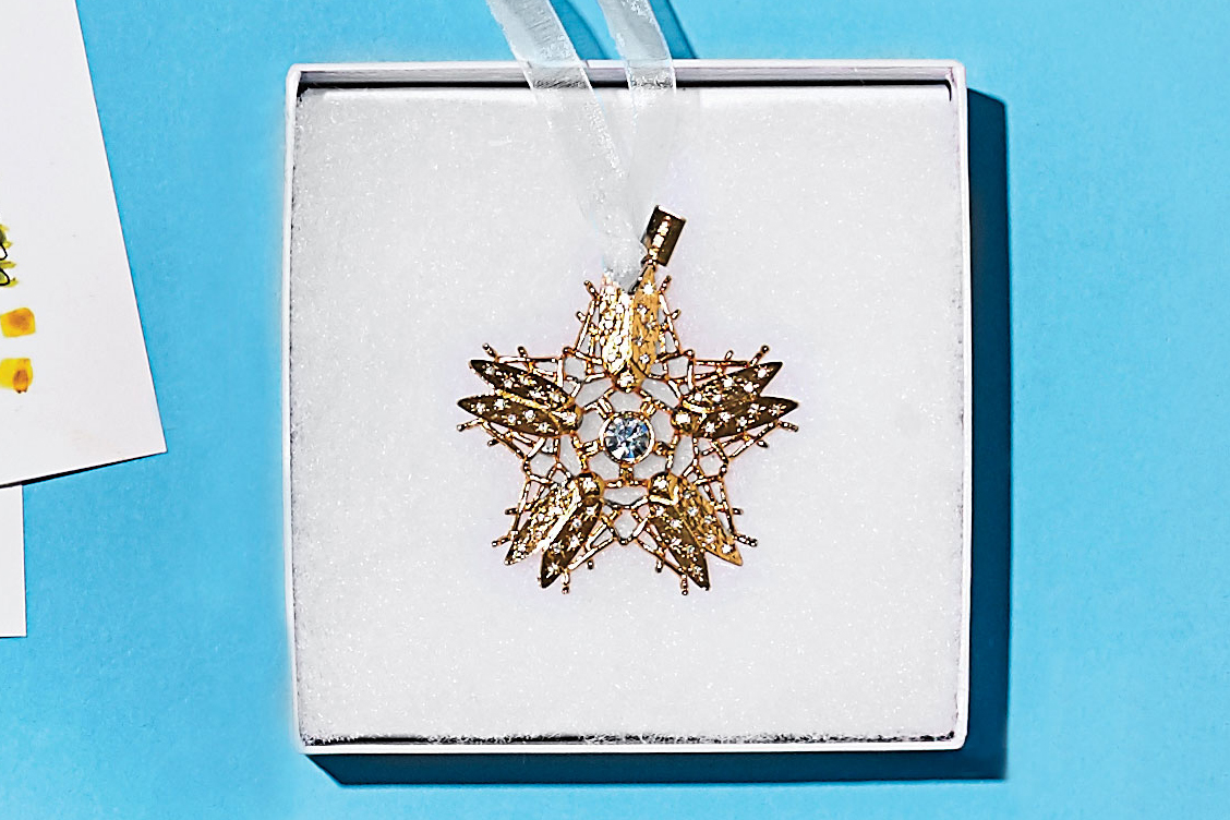Shining Star Goldbug Ornament