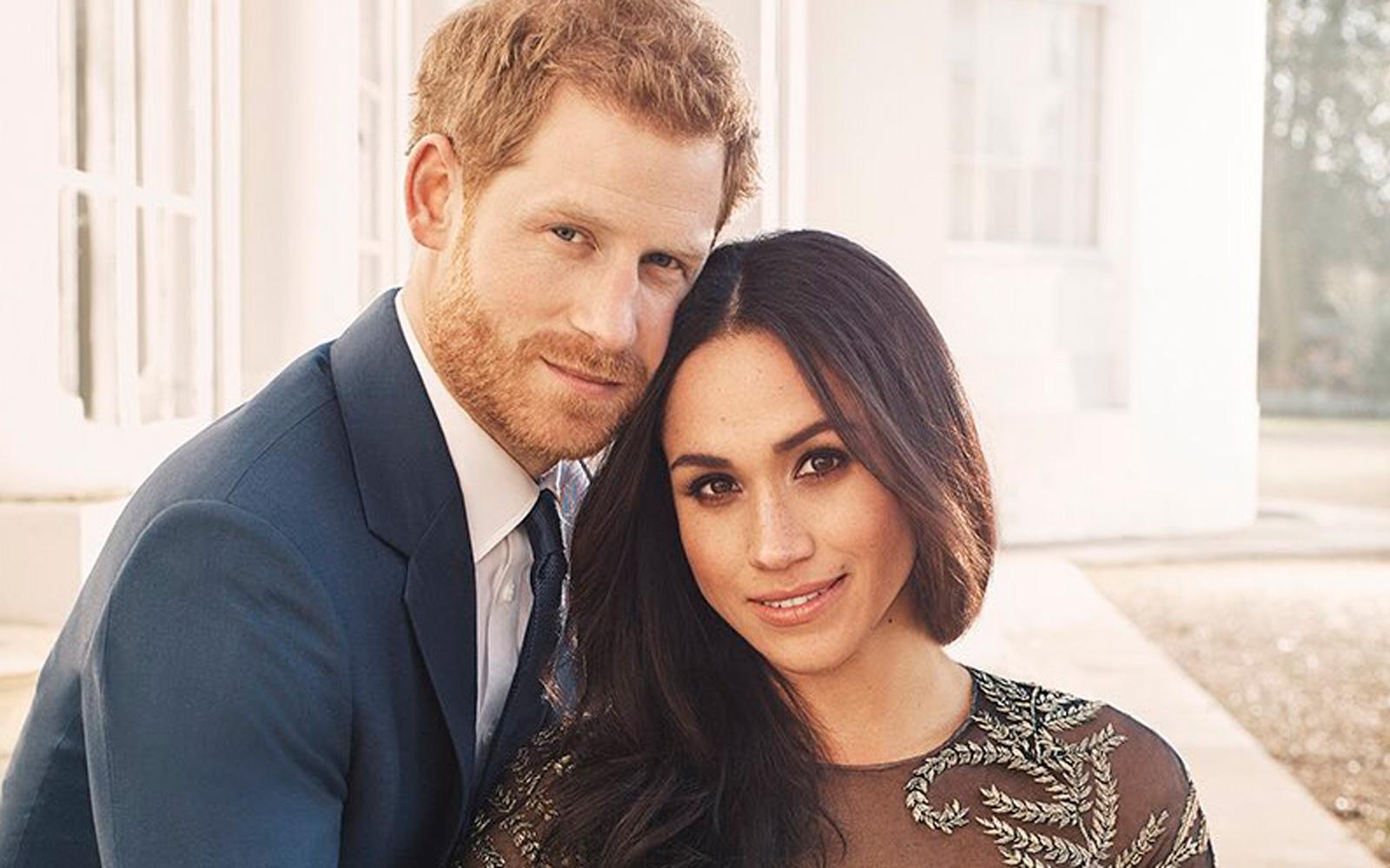 Harry and Meghan Engagement Photo