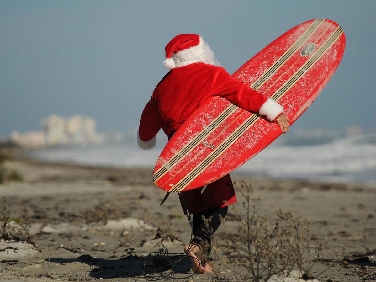 Surfing Santas Coco Beach