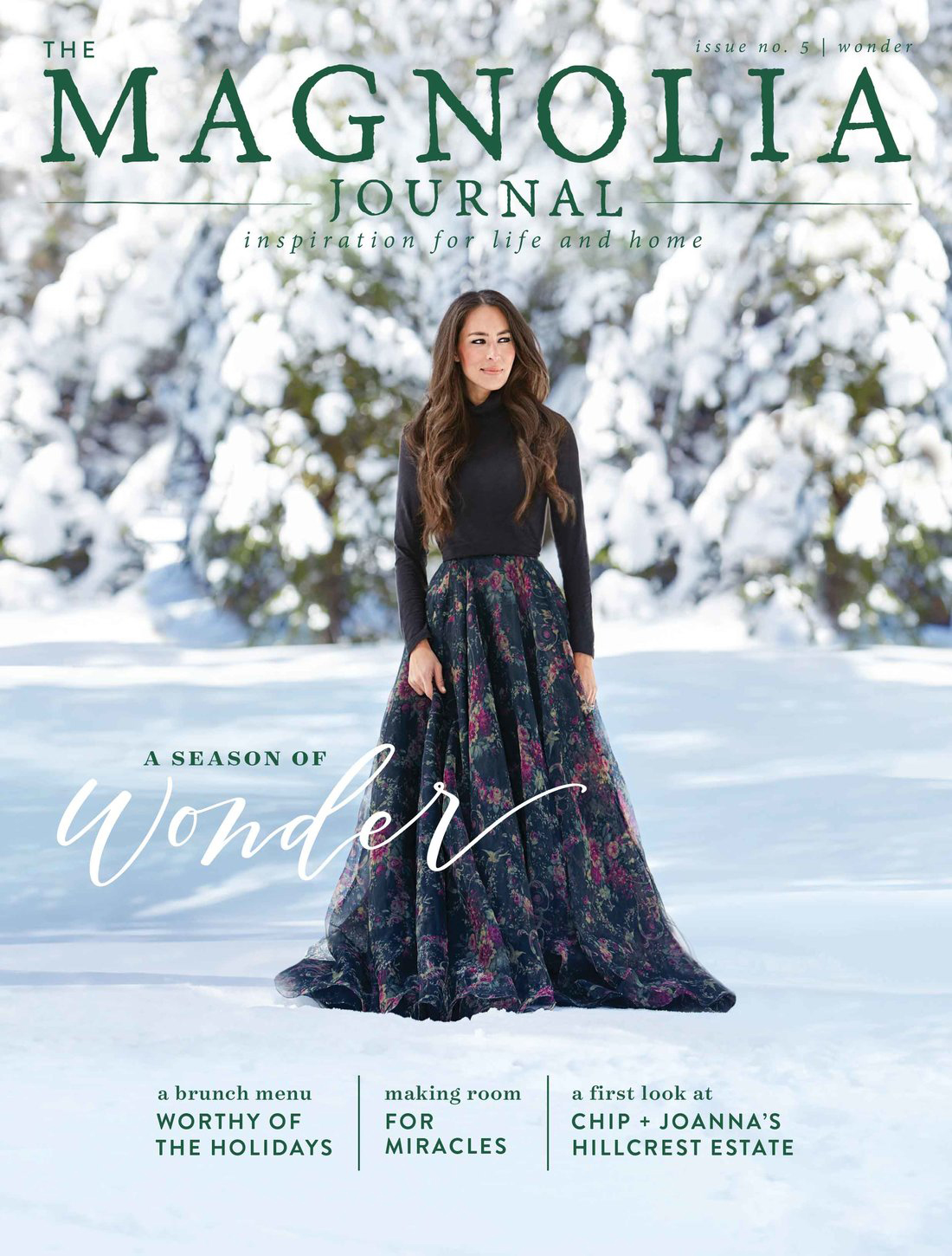 Joanna December Magazine Cover