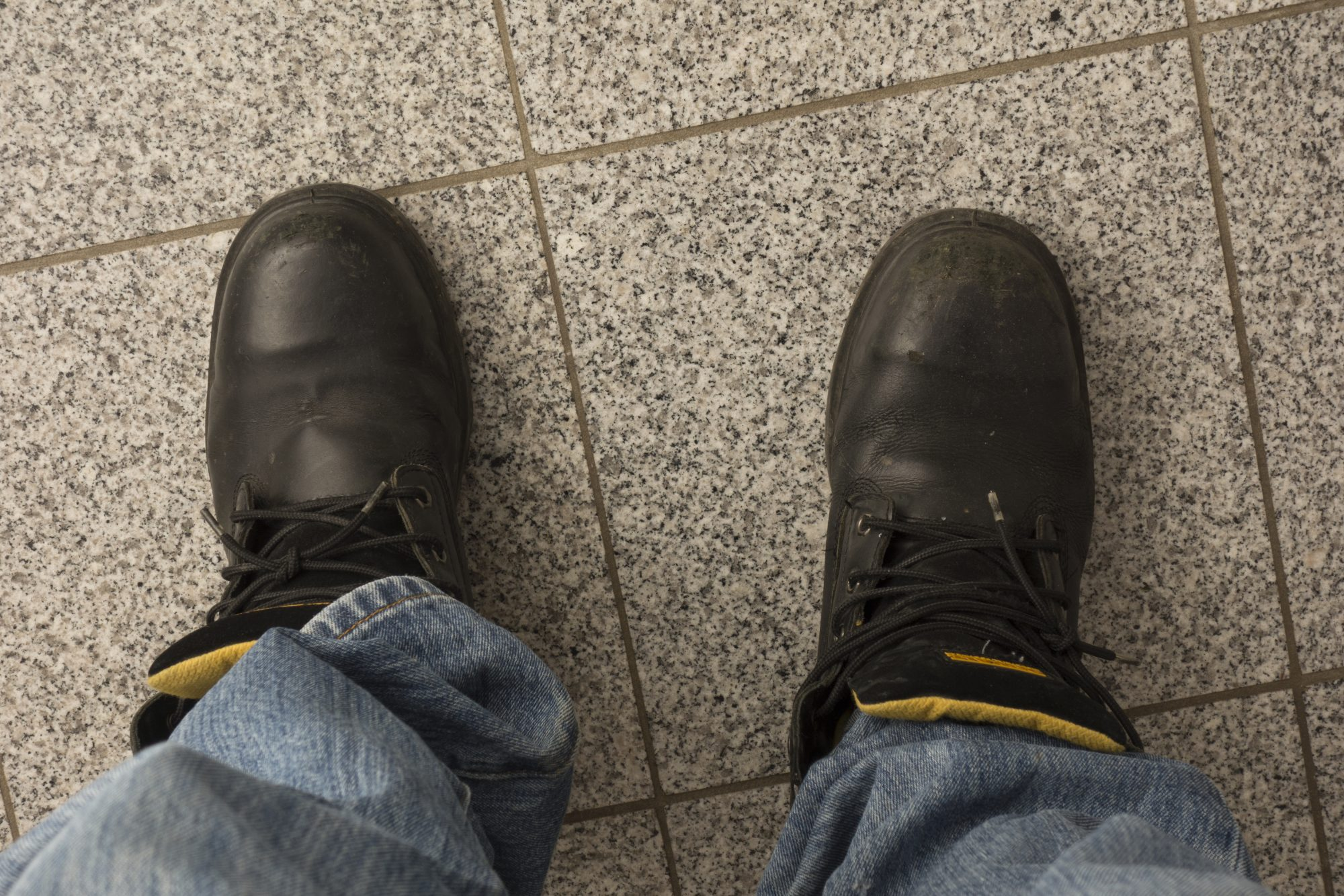 Close Up of Man's Shoes