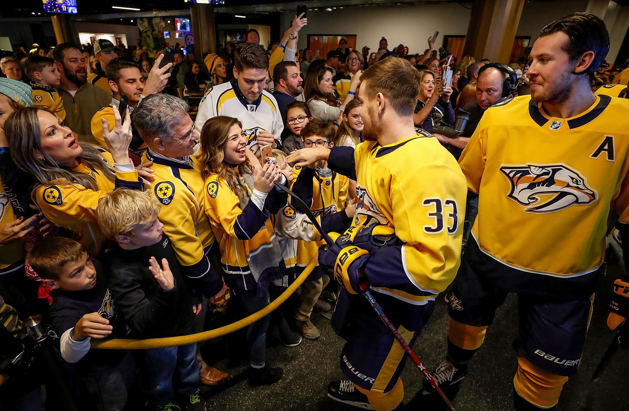 Nashville Predators Player Helps Surprise Proposal