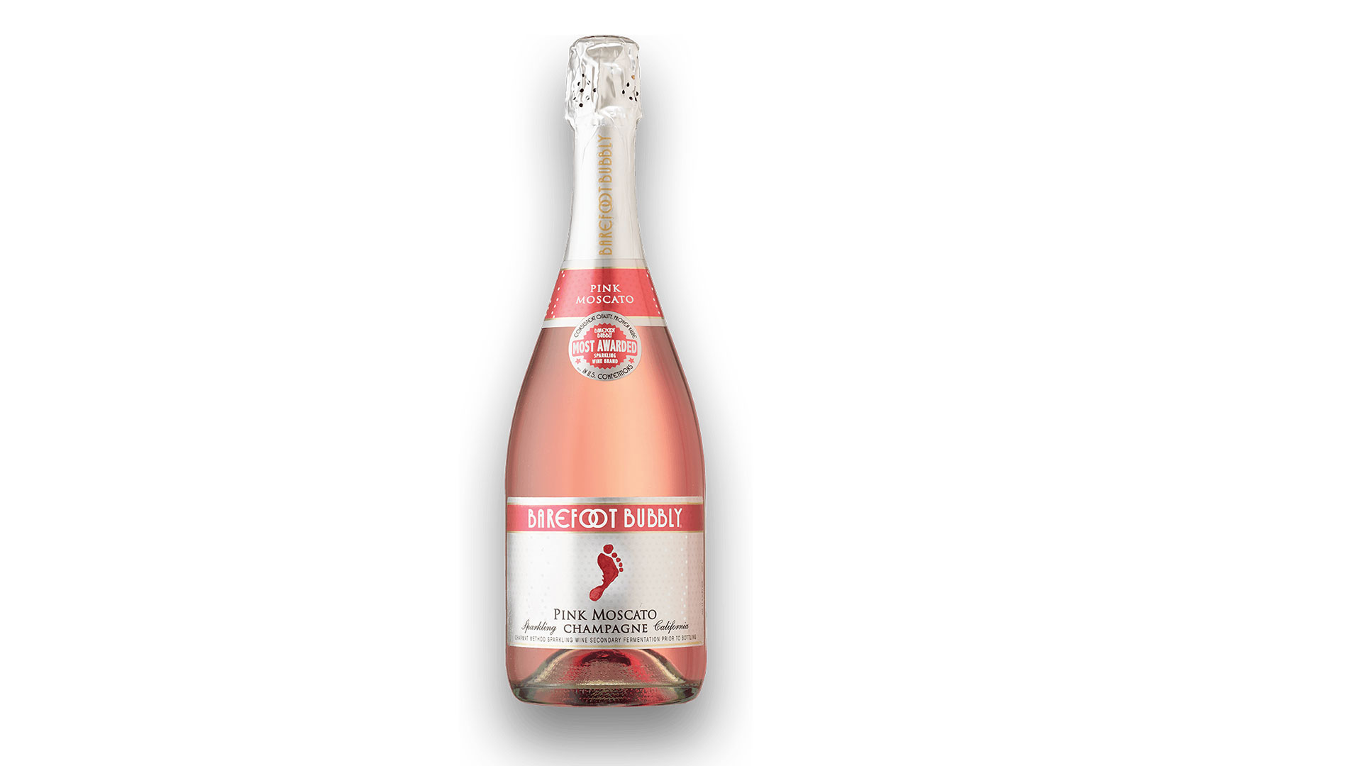 Barefoot Pink Moscato Champagne