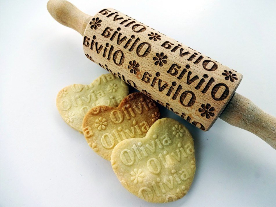 Personalized Mini Rolling Pin