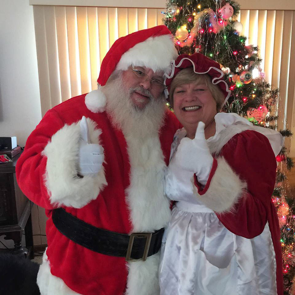 Santa and Merry Christmas Claus