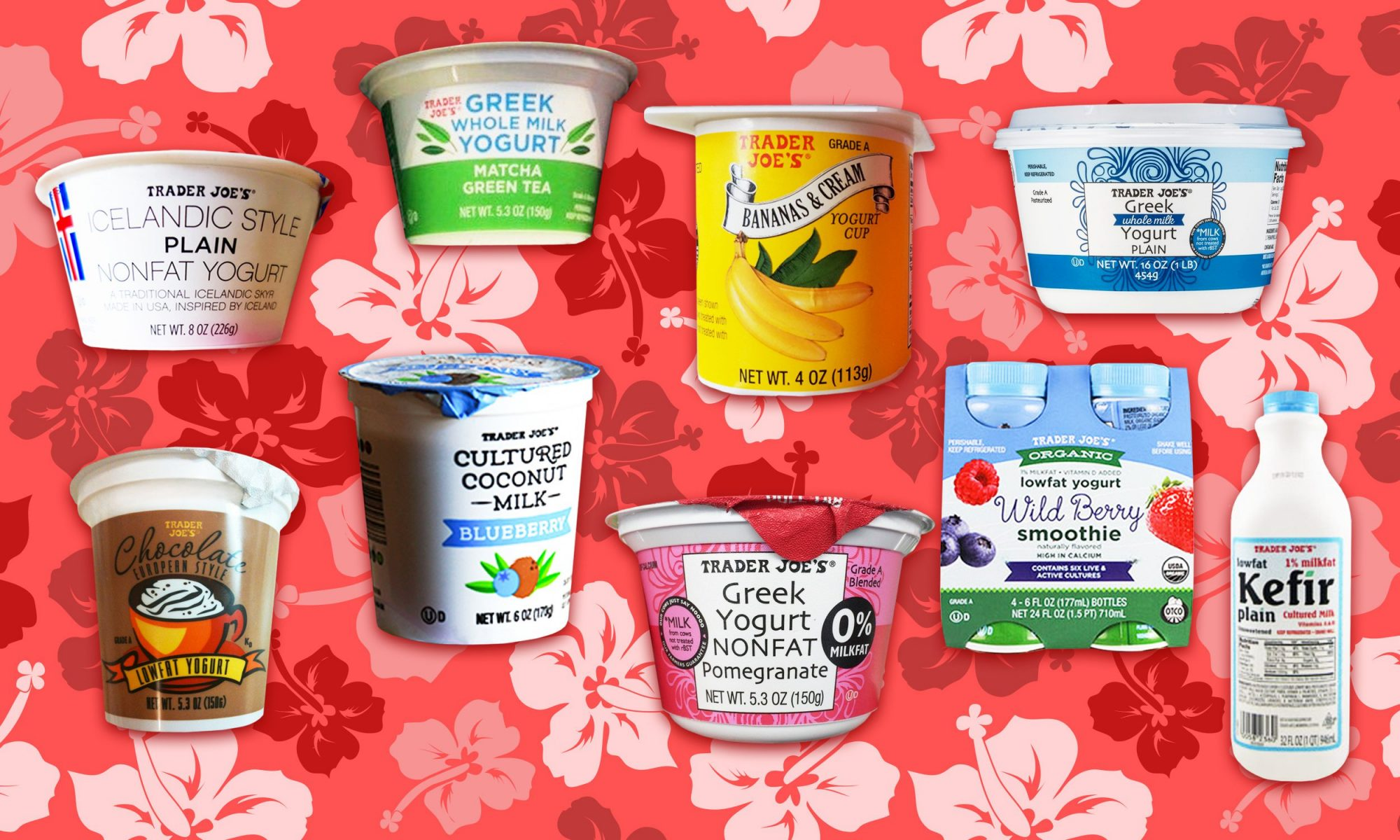 The Best and Worst Trader Joe's Yogurts