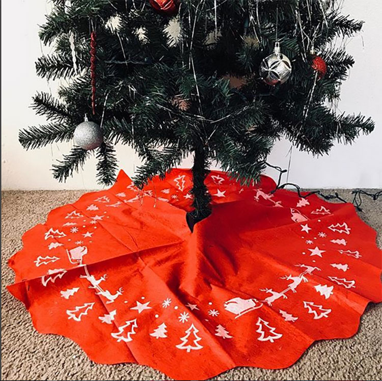 Tree Skirt Dollar Store