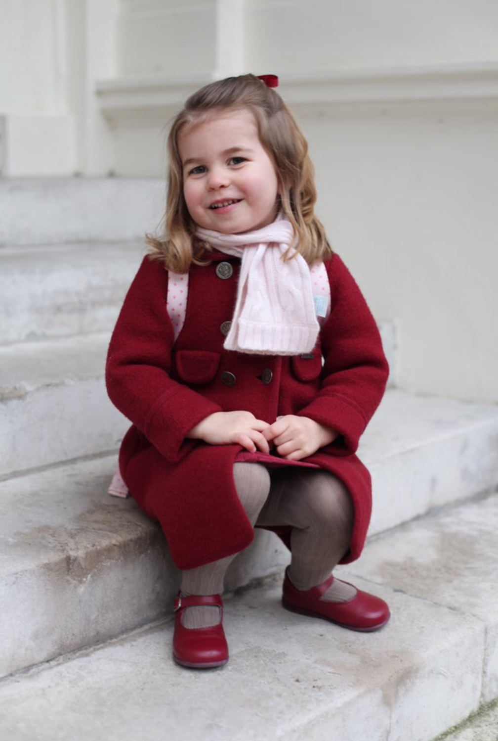 Princess Charlotte Is Chatty and Confident Going Into Nursery School