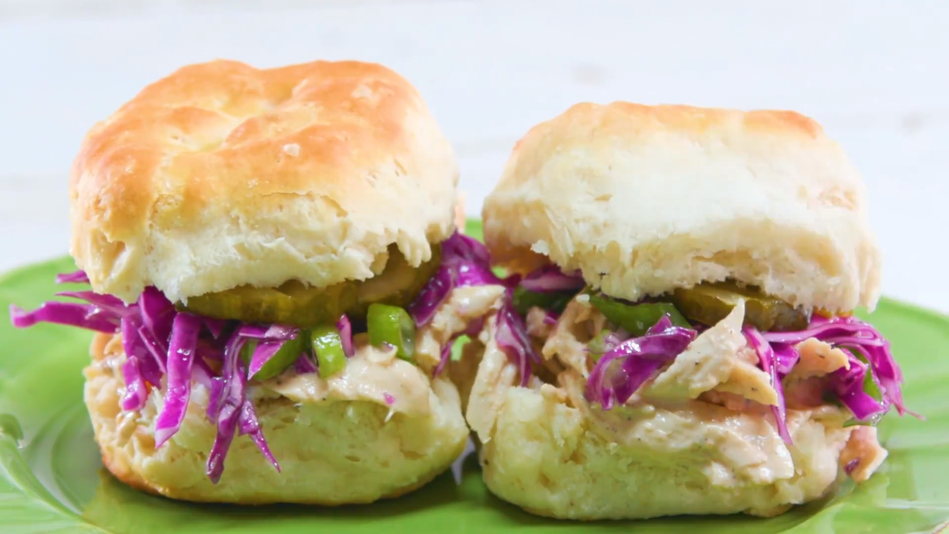 Chicken Biscuit Sandwiches