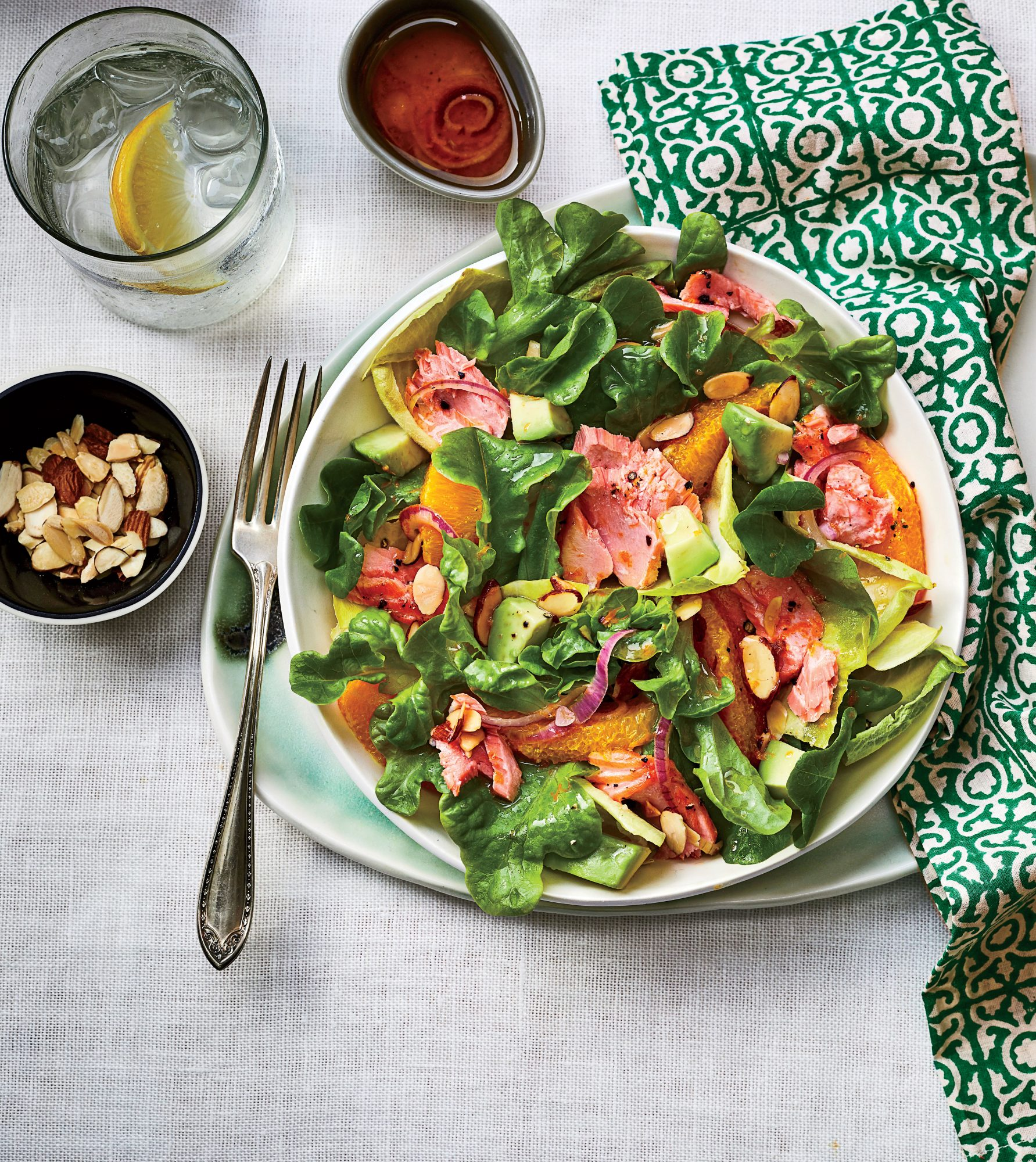 Citrus-Salmon Salad