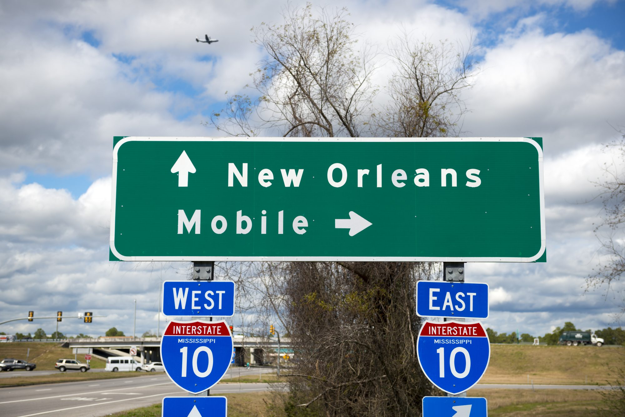 New Orleans Mobile Sign
