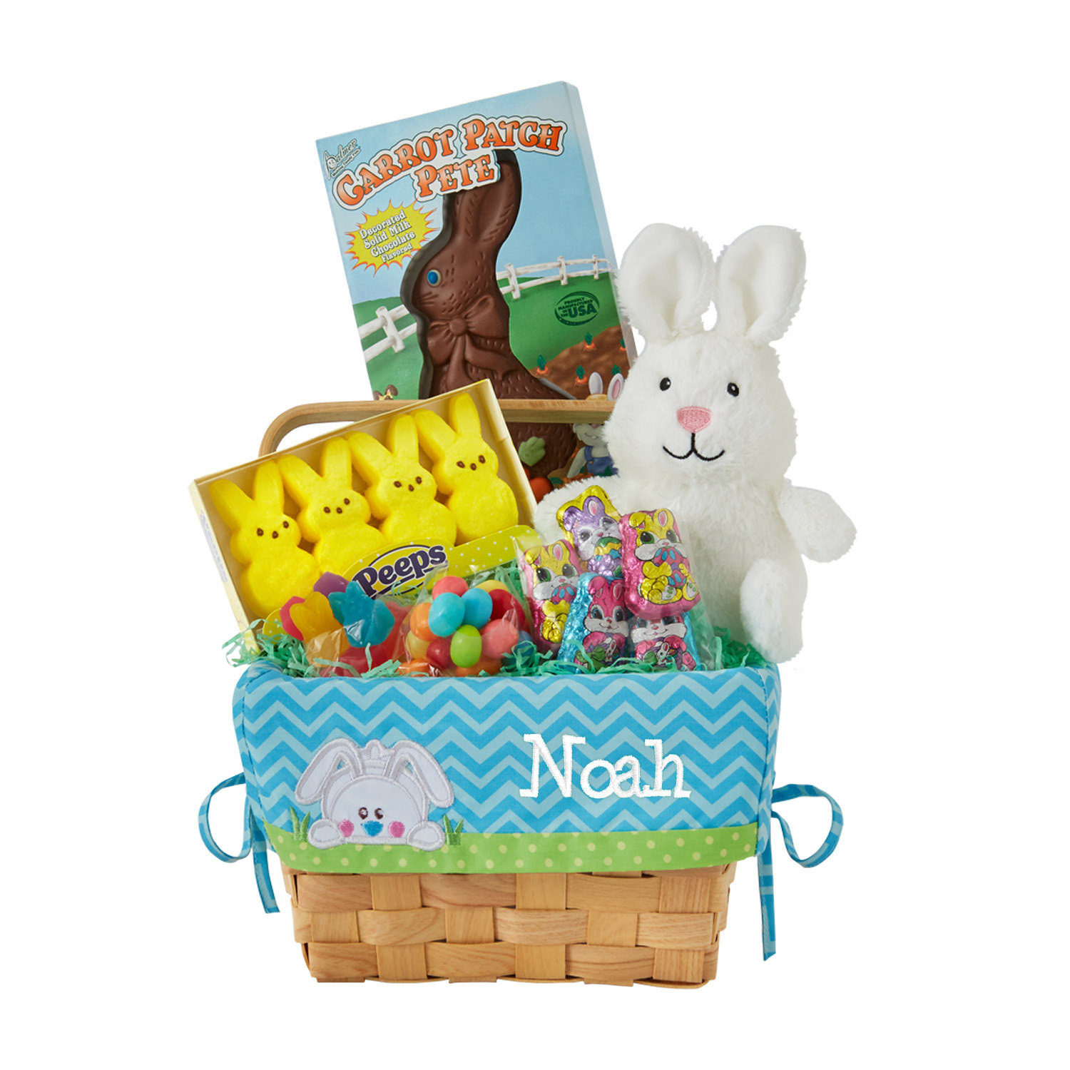 All-In-One Appliqué Easter Basket