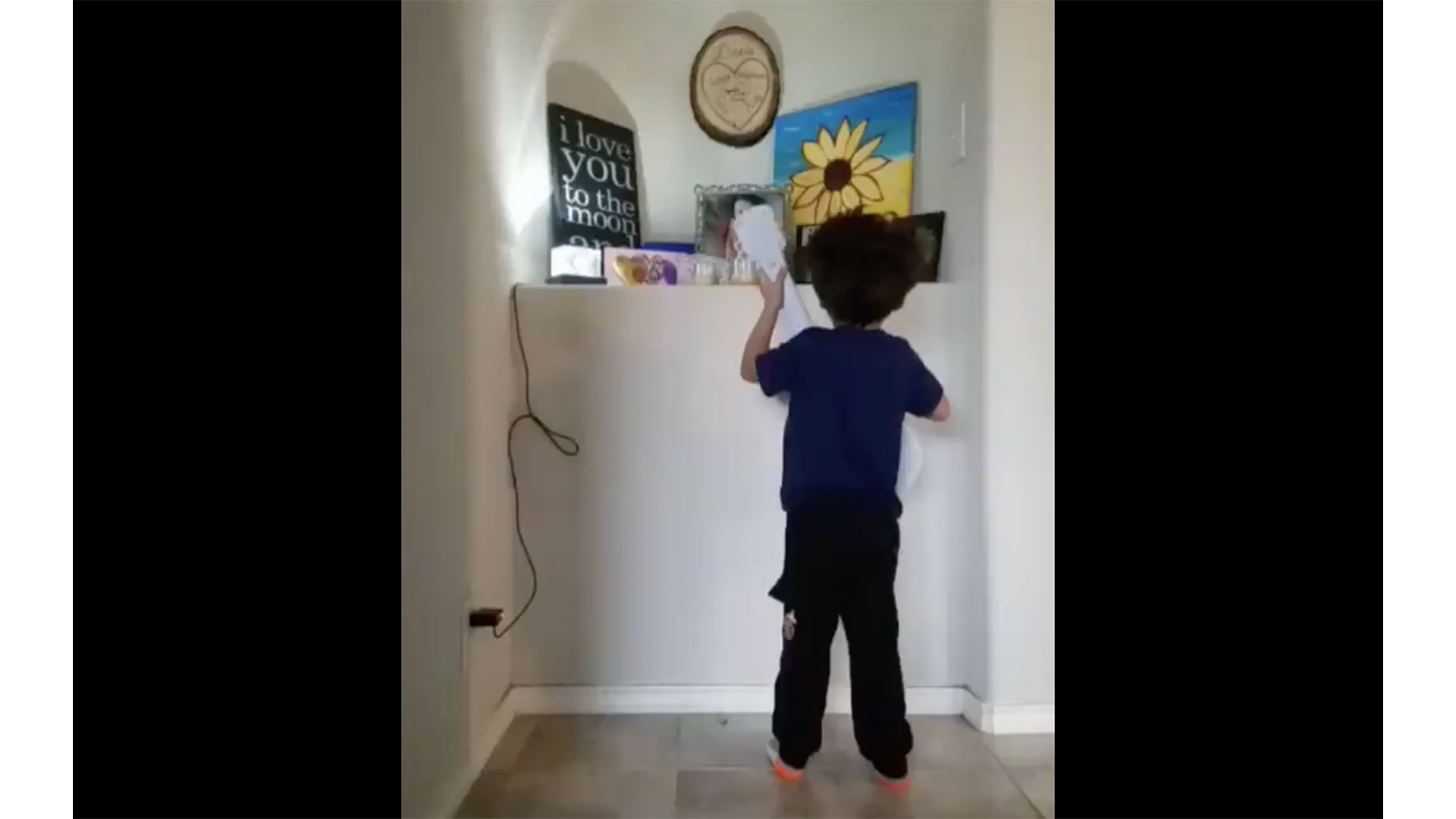 Boy Sings Song from Coco for Late Sister