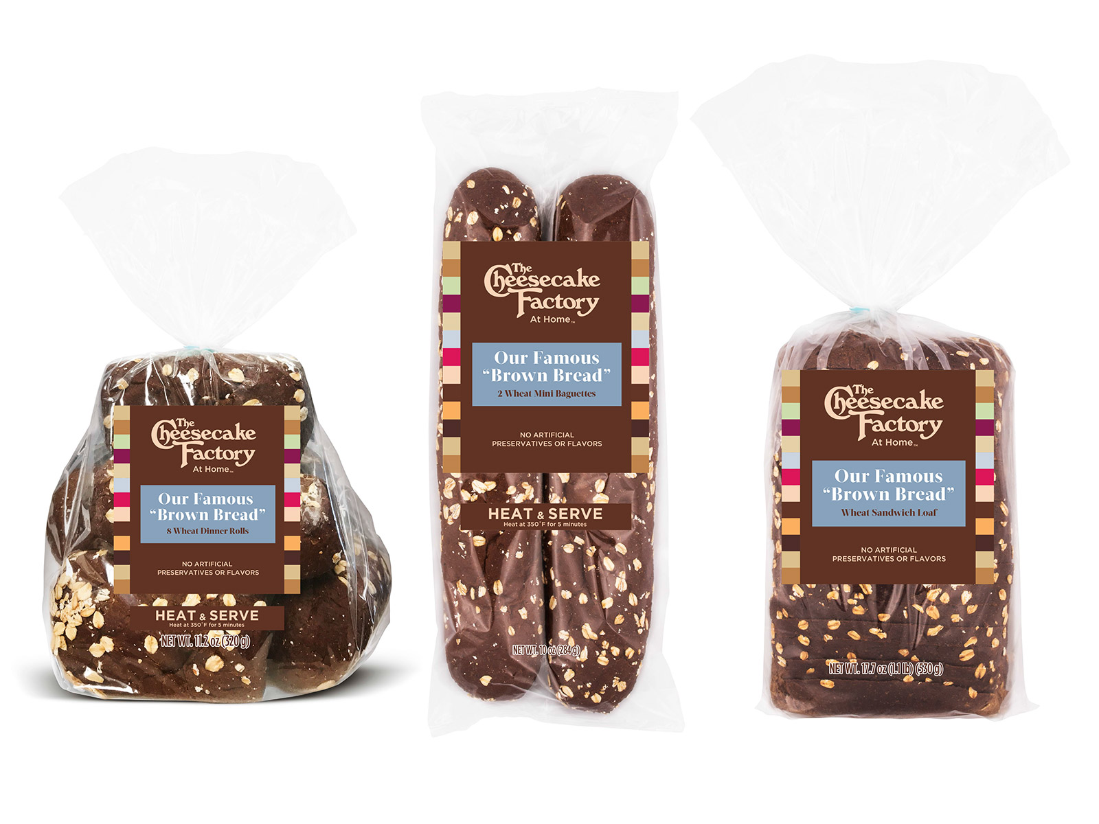 cheesecake factory brown bread