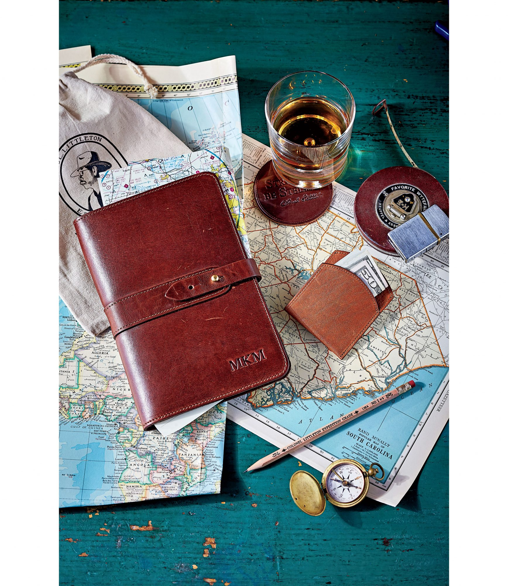 Col Littleton Leather Portfolio