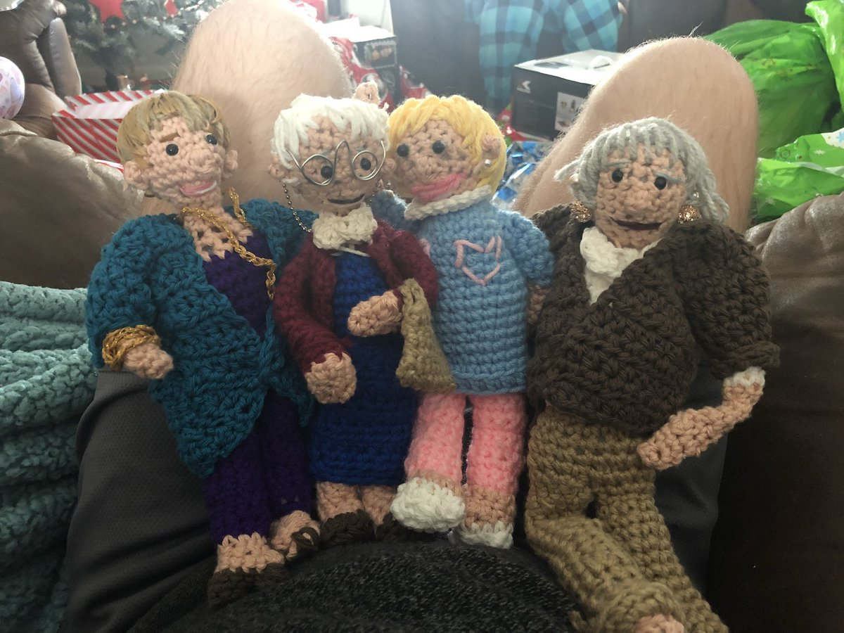 Crochet Golden Girls Dolls