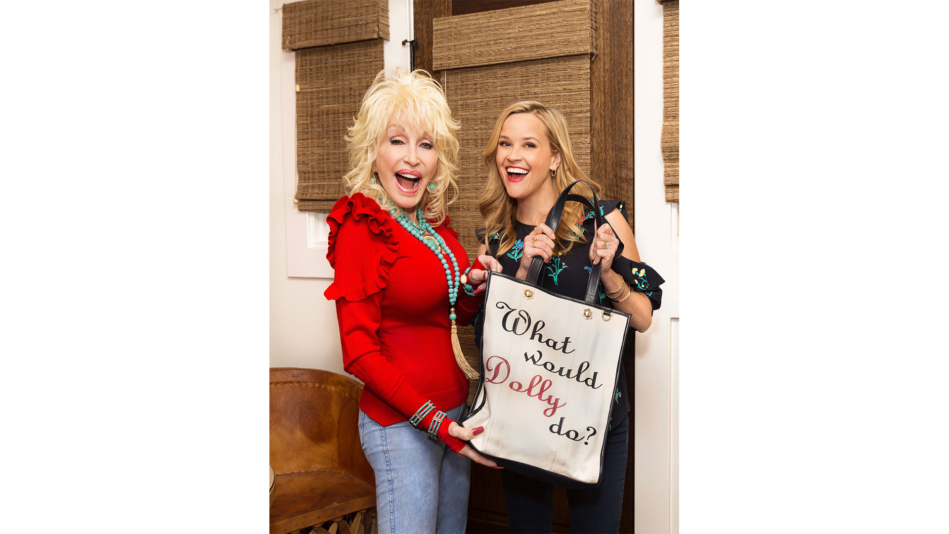 Dolly Parton and Reese Witherspoon