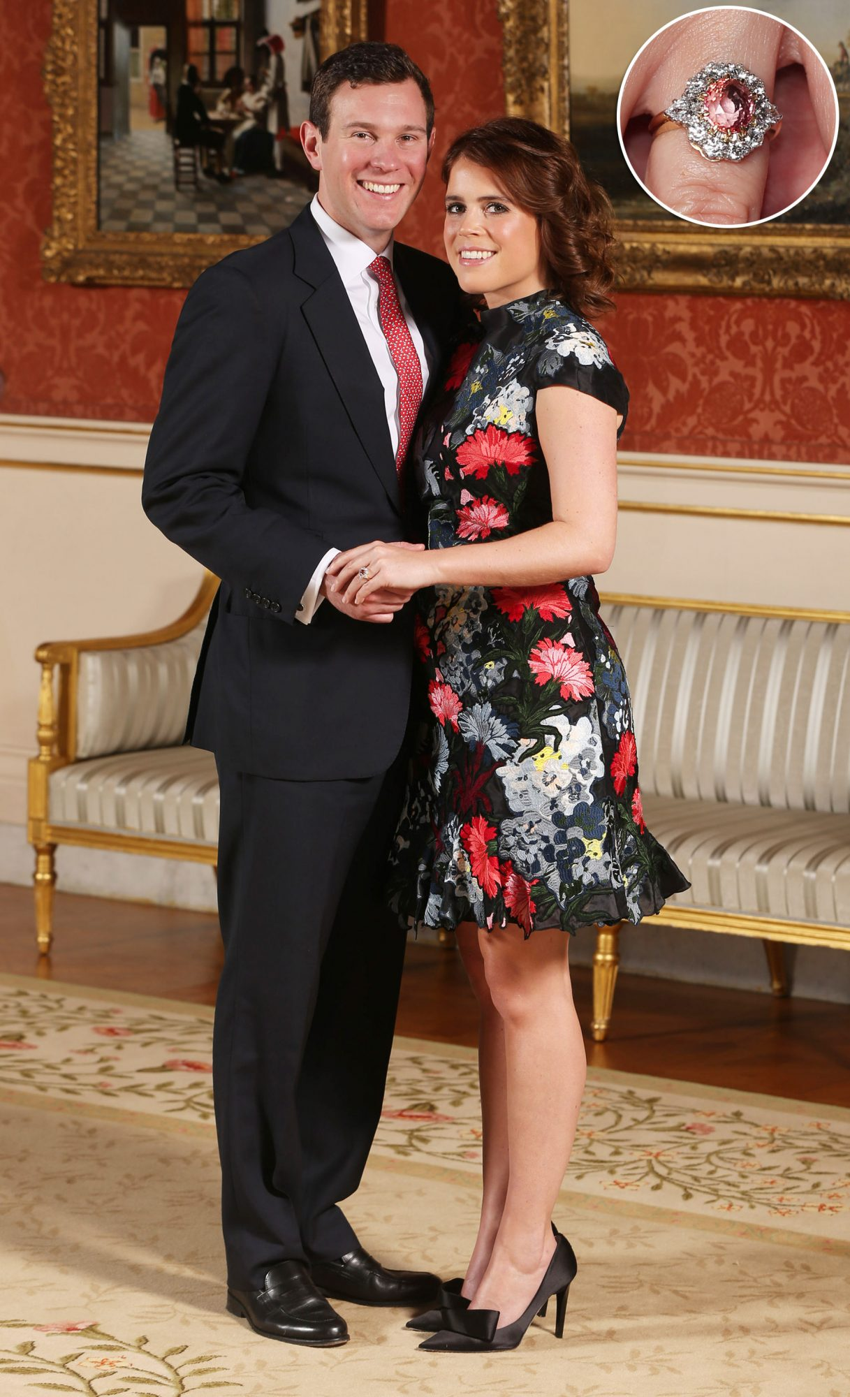 Princess Eugenie Shows Off Sapphire Engagement Ring (with Major Kate Vibes!) in New Portraits