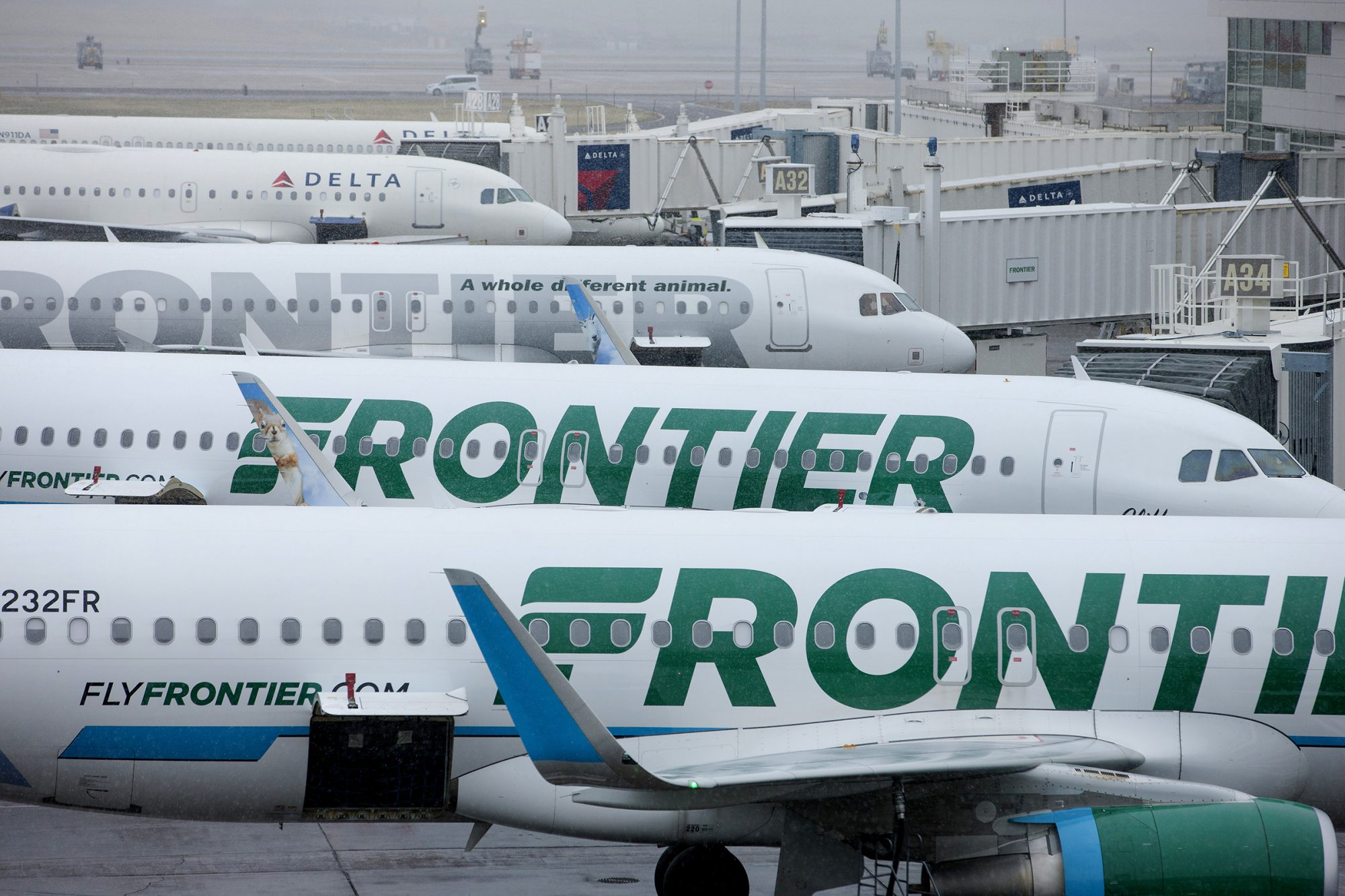 Frontier Airlines Inc. Operations As Company Prepares To Release IPO