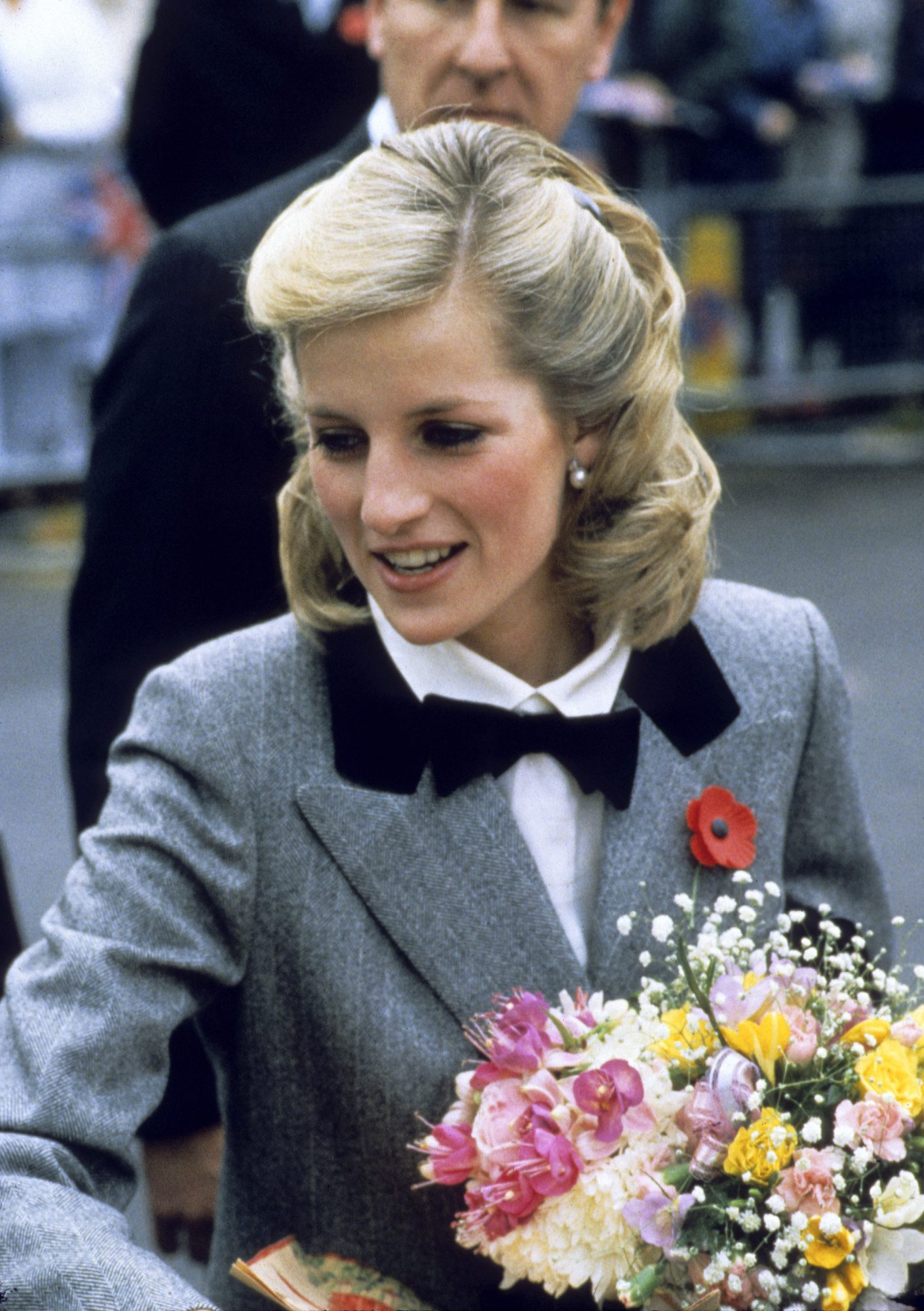 Princess Diana Shoulder Length Hair 1984