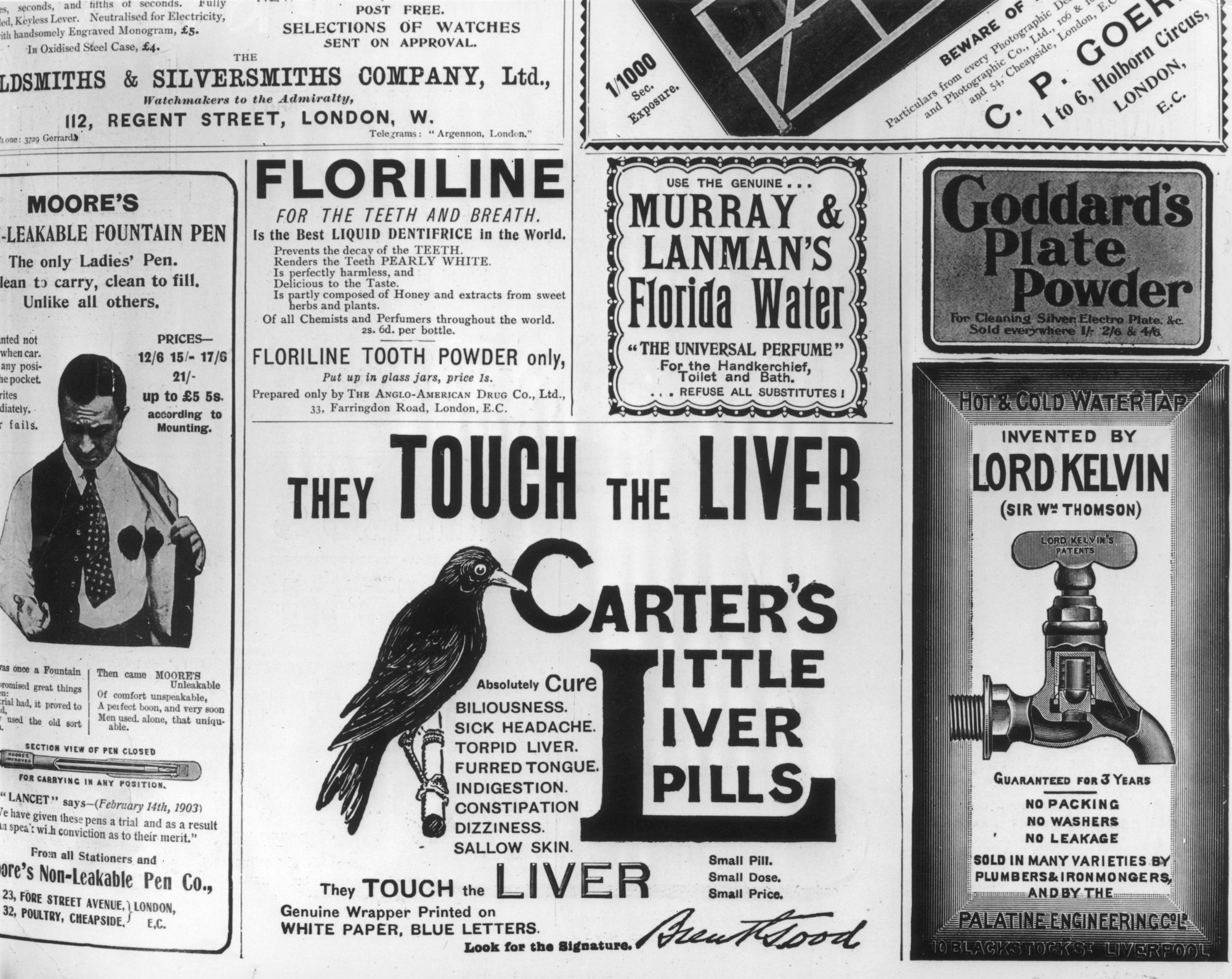 Carter's Little Pills Ad