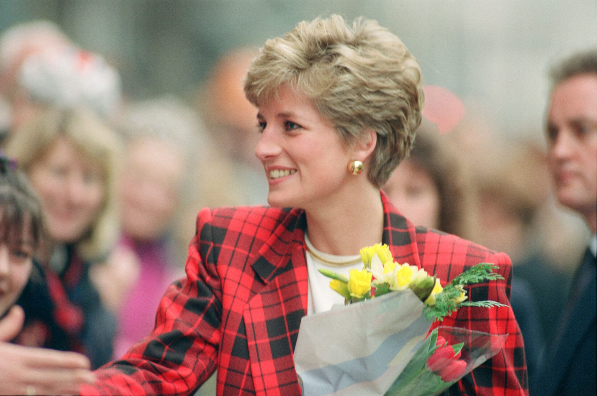 Princess Diana Pixie Haircut 1991