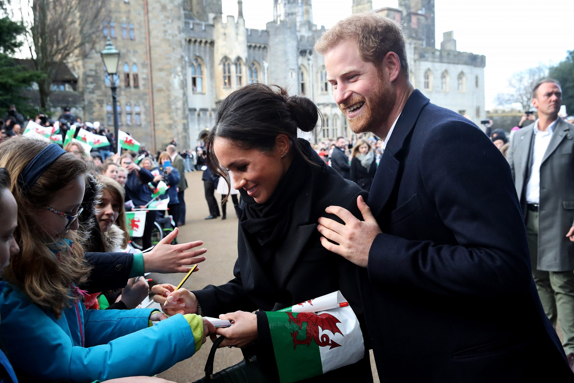 Prince Harry and Meghan Markle Visited a Castle Today and the Photos Are a Fairy Tale Come True!