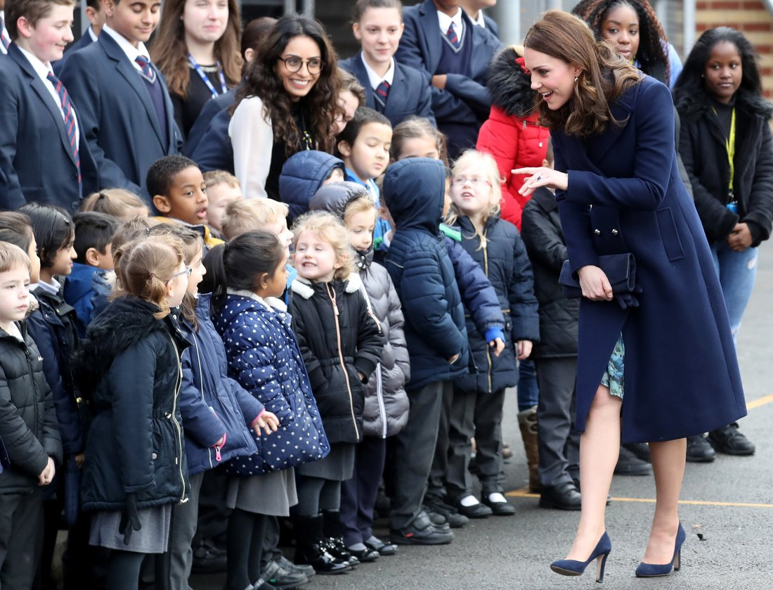 Kate Middleton The Day After Her 36th Birthday