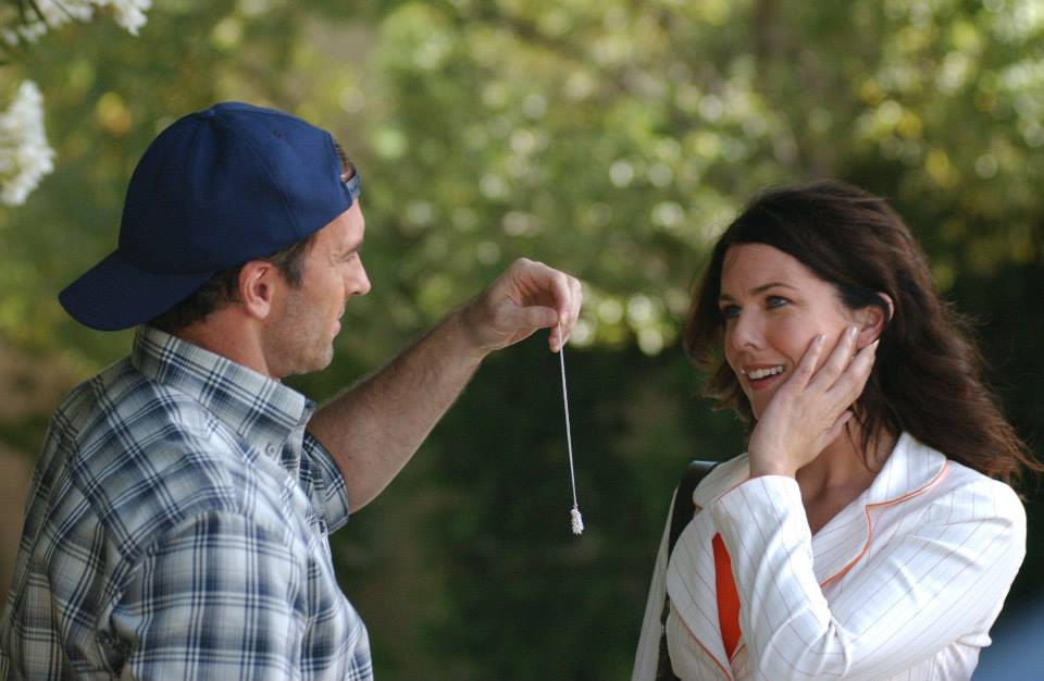 Gilmore Girls Luke and Lorelai