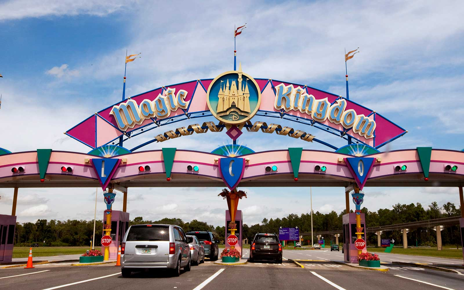 Magic Kingdom entrance at Walt Disney World