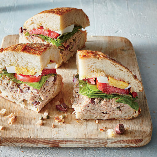 Pan Bagnat Tuna Sandwich