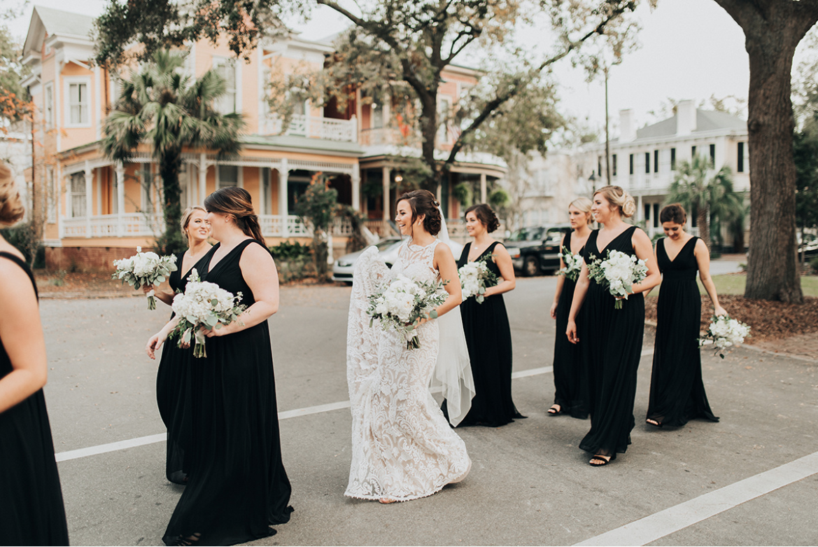 Bridesmaids on Parade