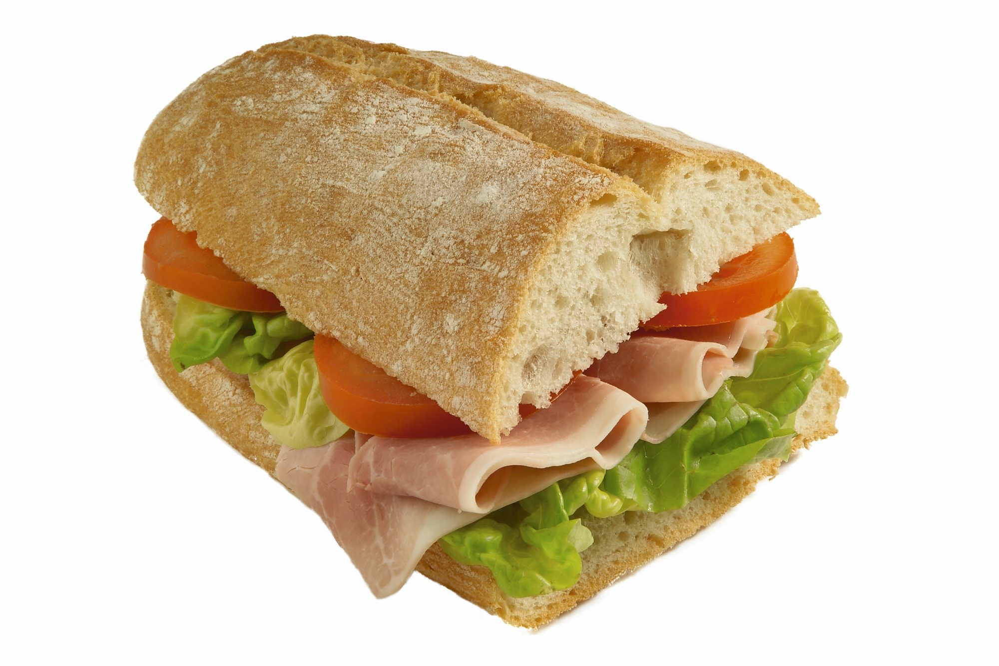 close up sub sandwich