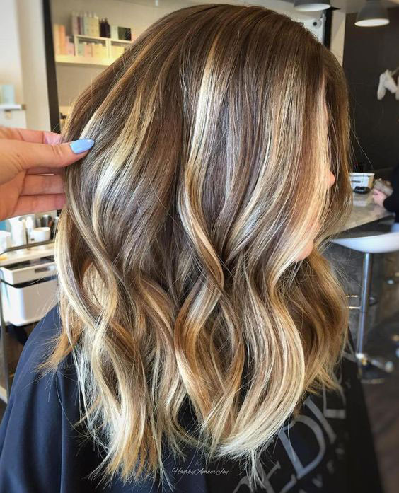 Dirty Blonde with Golden Balayage