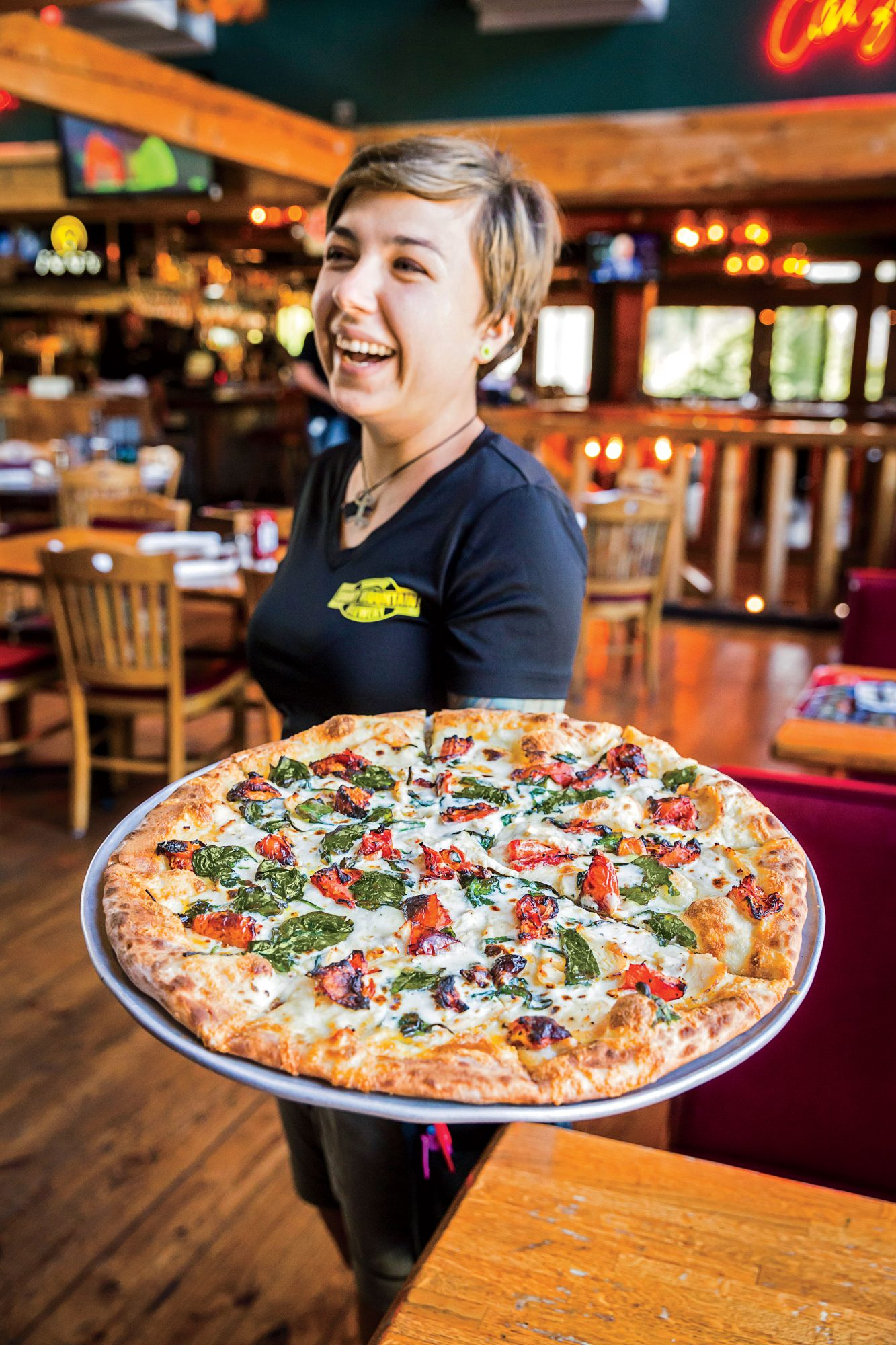 Smoky Mountain Brewery Brewmaster Pizza