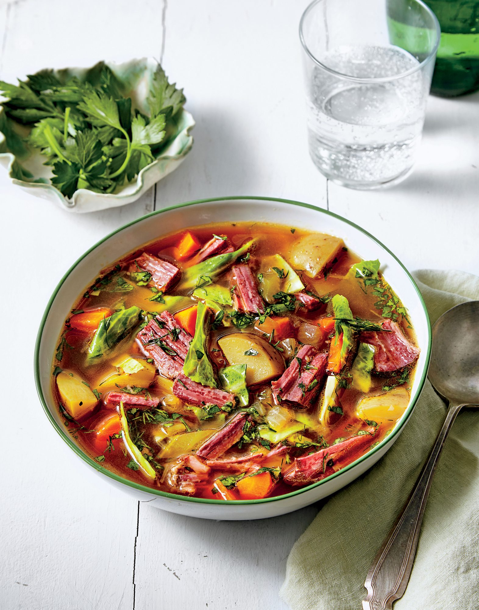Day-After-Saint Patrick's Day Soup
