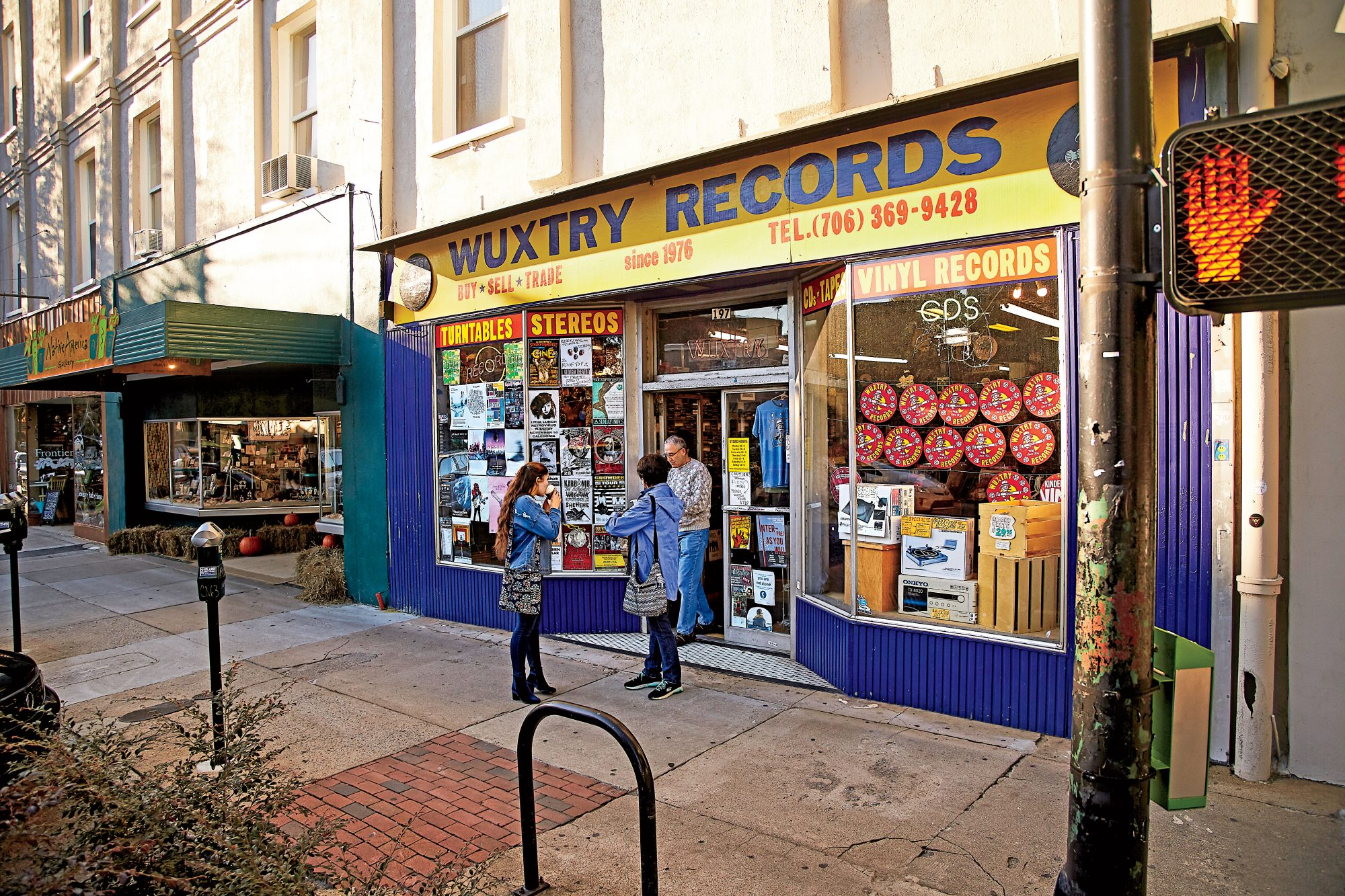 Get lost in the stacks at Wuxtry Records