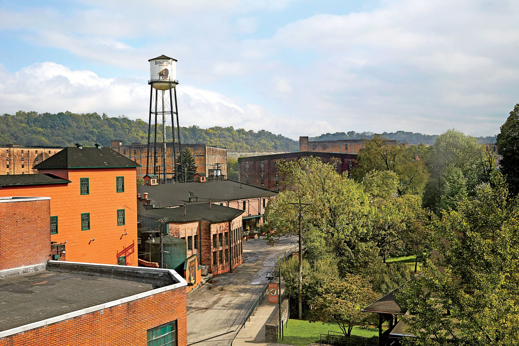 Buffalo Trace Distillery Buildings