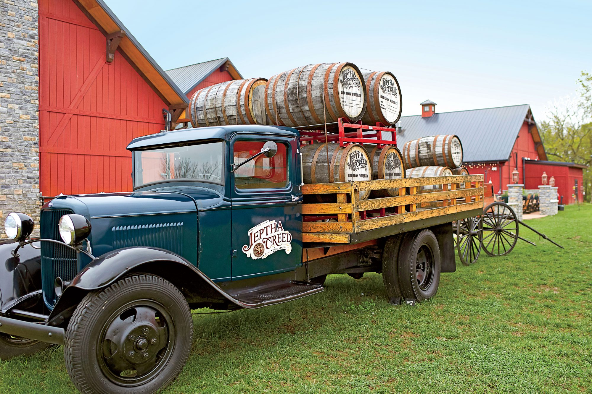 Jeptha Creed Distillery Vintage Truck