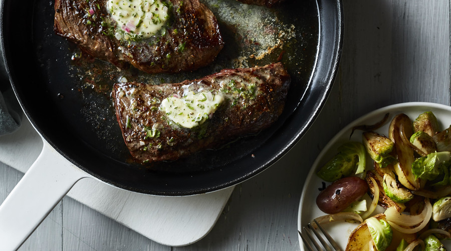 Why You Should Definitely Pan-Sear Steak for a Weeknight Dinner