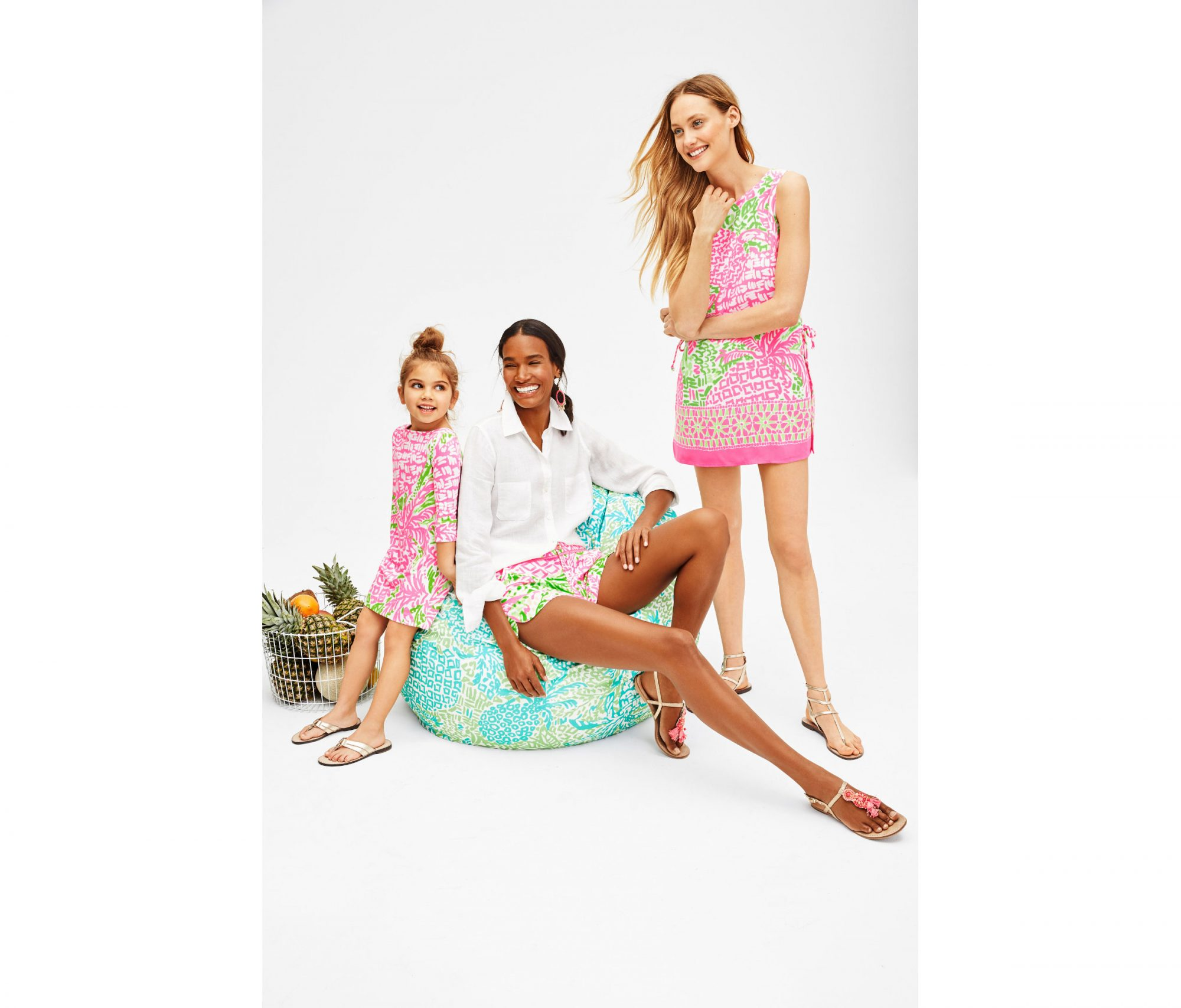 Lilly Pulitzer Pottery Barn Collaboration