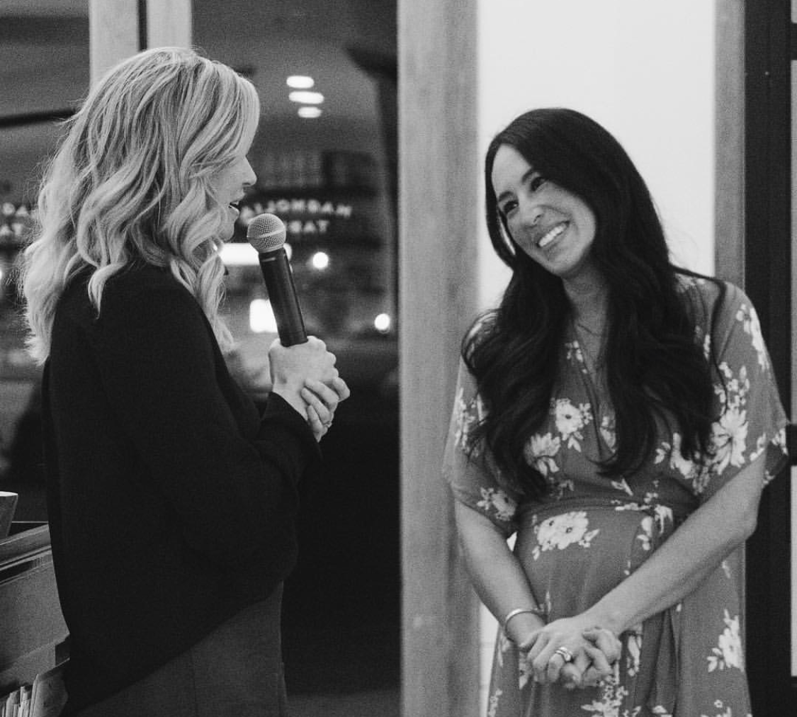 Joanna Gaines Black and White